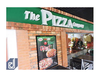 Project The Pizza Company Restaurant - The Garden Mall