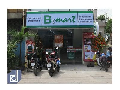 Công trình nội thất cửa hàng tiện lợi B's Mart Văn Thân