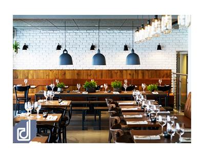Thiết kế nhà hàng đẹp, sang trọng, giá rẻ tại Quận 3