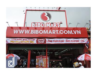 Thiết kế - Thi công nội thất cửa hàng mẹ và bé Bibo Mart Lê Đức Thọ