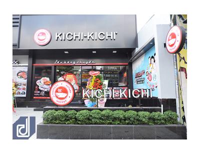 Công trình cụm nhà hàng Gogi House - Kichi Kichi Nguyễn Ảnh Thủ