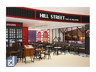 Dự án Thiết kế: Nhà hàng Hill Street - Vạn Hạnh Mall