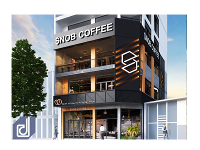 Designing for SNOB Coffee - Phan Van Tri branch