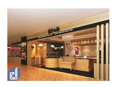 Dự án Thiết kế: Nhà hàng Kushiyake Monogatari - Aeon Mall Bình Tân