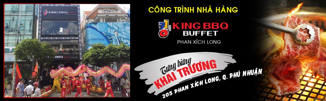 Chúc mừng khai trương nhà hàng King BBQ Phan Xích Long