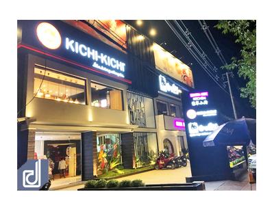 Công trình cụm nhà hàng Gogi House - Kichi Kichi - Crystal Jade Bình Dương