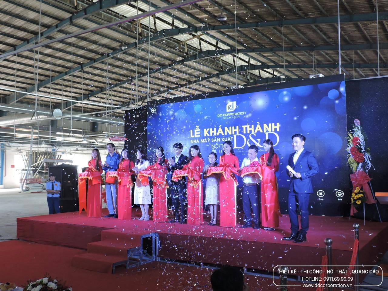 Lễ khánh thành Nhà máy sản xuất nội thất D và D