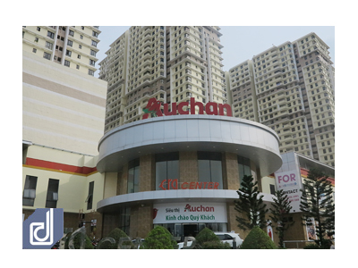 Auchan (France) Hypermarket construction - The Era Town, Quận 7