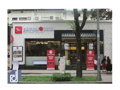 Công trình nhà hàng Nhật Bản Chiyoda Sushi - Pasteur