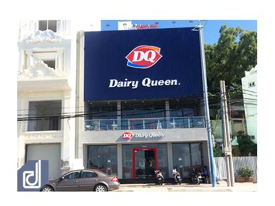 Công trình nhà hàng Dairy Queen Vũng Tàu