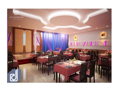 Thiết kế thi công nội thất nhà hàng đẹp tại quận Bình Thạnh TP.HCM