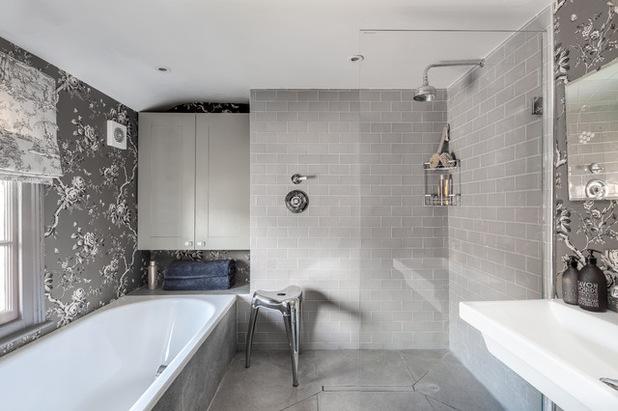 Kết quả hình ảnh cho phòng tắm màu xám