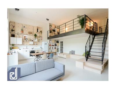 Những ngôi nhà có tầng lửng đẹp và tiện nghi đến phát cuồng